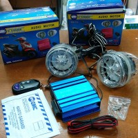 GMC Audio + Alarm motor BM-718 (with speaker)