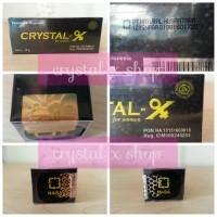 Jual Crystal X ori, tidak ASLI uang KEMBALI 100%, Garansi PATAH.!!! Murah