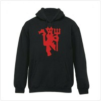 Hoodie Manchester United Red Devils Logo