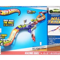 MAINAN TRACK HOT WHEELS WALL TRACKS AUTO MOTION SPEEDWAY - 10905 MURAH