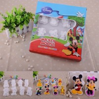 Mainan Anak - Mickey Plaster Mold Colouring Set