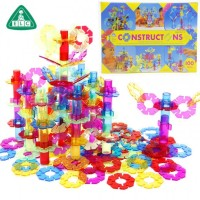 Mainan Anak - 100pcs 3D ELC Construction