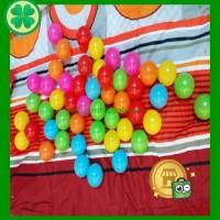 Jual 100 Pcs Mainan Anak Bola Plastik Warna Warni Cocok Utk mandi bayi Murah