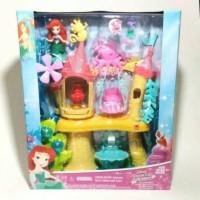 playset mainan anak disney princess ariel little mermaid Kingdom
