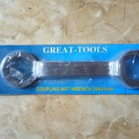 kunci mur kopling matic great 39x41mm (coupling nut wrench)