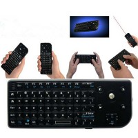Jual Newest Mini Smart Keyboard with Trackball & Laser Pointer , Limited!!! Murah