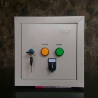 Panel Kontrol Water Level Tandon Air Otomatis untuk Pompa