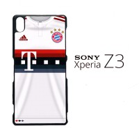 Bayern Munchen Jersey 2015-2016 0010 Casing for SONY Xperia Z3 Hardcas