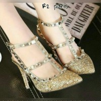 High Heels Kimberly Bling Gold