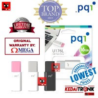 Flashdisk PQI 16GB U176L USB Flash Drive 16 GB Disk Cute Mini MURAH