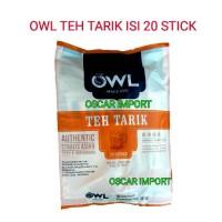 Jual OWL TEH TARIK SINGAPORE ISI 20 BONUS GELAS Murah