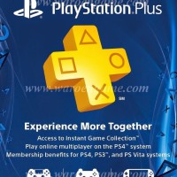 Sony PlayStation Plus 1 Year (12 Month Asia) Membership PS3 PS4 PSVita