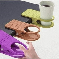 Jual Plastic Table Coffee Cup Holder Clip Murah