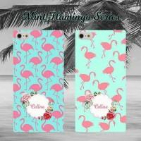 case mint flamingo untuk semua type hp (oppo,samsung,iphone)