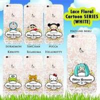 case lace floral cartoon untuk semua type hp (coolpad,vivo)
