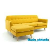 Sofa sudut unik. Sofa minimalis (furniture jepara)