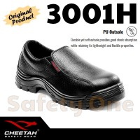 Jual Cheetah 3001H - Sepatu Safety Shoes Bagus Awet Termurah Murah