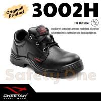 Jual Cheetah 3002H - Sepatu Safety Shoes Bagus Awet Termurah Murah