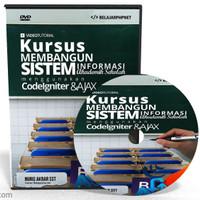 DVD Tutorial Codeigniter : Membangun Sistem Informasi Akademik Sekolah