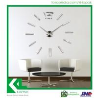 Jual Hiasan Jam Dinding Raksasa Keren / 3D Giant wall clock Murah