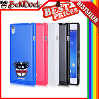 Softcase Sillicone Softshell Sony Experia Xperia T3 / Ultra / Dual