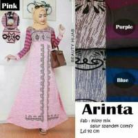 gamis maxi longdress muslim baju wanita kaftan vintage batik