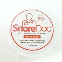 SnoreDoc (4 Pcs - BPA Free): Anti Ngorok, Anti Dengkur, Snore Stopper