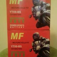 aki motor mf YTX9-BS gs yuasa toyo ninja 250 pulsar 200ns sym dll
