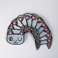 Patch Iron Patch Cute Cat