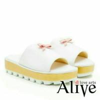 sandal wanita ALIVE - USAGI WHITE