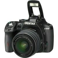 NEW KAMERA DSLR PENTAX K500 / K-500 LENSA KIT 18-55mm GARANSI RESMI