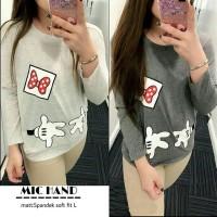 FN-MIC HAND/sweater mickey mouse/kaos micky murah/hoodie tsum/baju luc