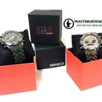 Jam tangan 511 sureshot dualtime tactical series watch Diskon