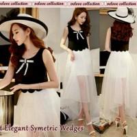 Harga st symetris wedges baju setelan wanita pakaian pesta wa | antitipu.com