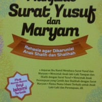 #Mukjizat Surat Yusuf Dan Maryam #Buku Parenting #Buku Islami