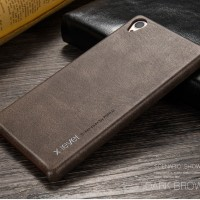 Softcase LEATHER Sony Z3 / Z5 / Plus Premium Dual Case HP Cover Kulit