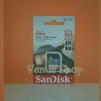 Sandisk Ultra Sdhc Sdcard 64gb 48mbps Class 10 / Sd Card 64gb 48mb / S S