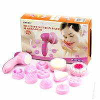 CNAIER Alat Pembersih Wajah Facial Cleaning Massager Multifungsi 12In1