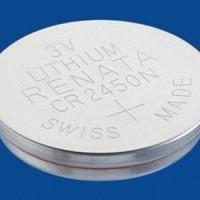 3V Lithium Battery - Renata - CR2450 20170228