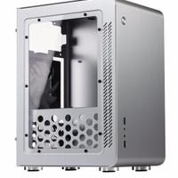 Jonsbo U3 Window Silver Micro ATX Case | Aluminium Computer PC Casing