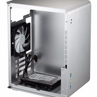 Jonsbo U2 Window Silver Mini ITX Case | Aluminium Computer PC Casing 1
