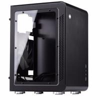Jonsbo U2 Window Black Mini ITX Case | Aluminium Computer PC Casing 1 /