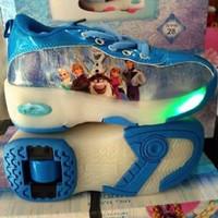 Best Deal Sepatu Roda Frozen Lampu Biru Paling Dicari