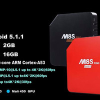 M8S PLUS Amlogic S905 Gigabit 2G / 16G Android 5.1 LOLIPOP