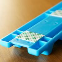 Gantungan tempel 6 kait untuk alat dapur / lemari baju multifungsi