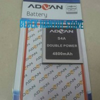 Baterai Advan S4A ORI Double Power/Batre, Batrai,Battery, Original,HP