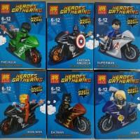 Jual Lego Super Hero Superhero Avengers Superman Batman Motor LELE 79291 Murah