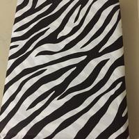 Sprei star motif zebra 120x200 cm