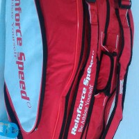 Tas Badminton / Bulutangkis RS Red/White (New 2017)