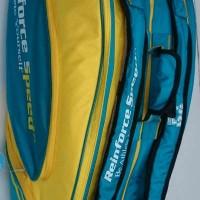 Tas Badminton / Bulutangkis RS Green/Yellow (New 2017)